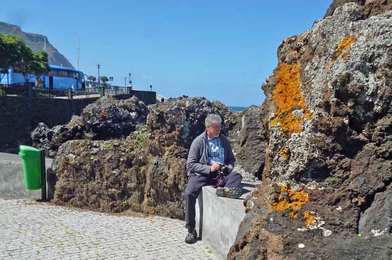 Bild 39 An der Felsenküste von Porto Moniz