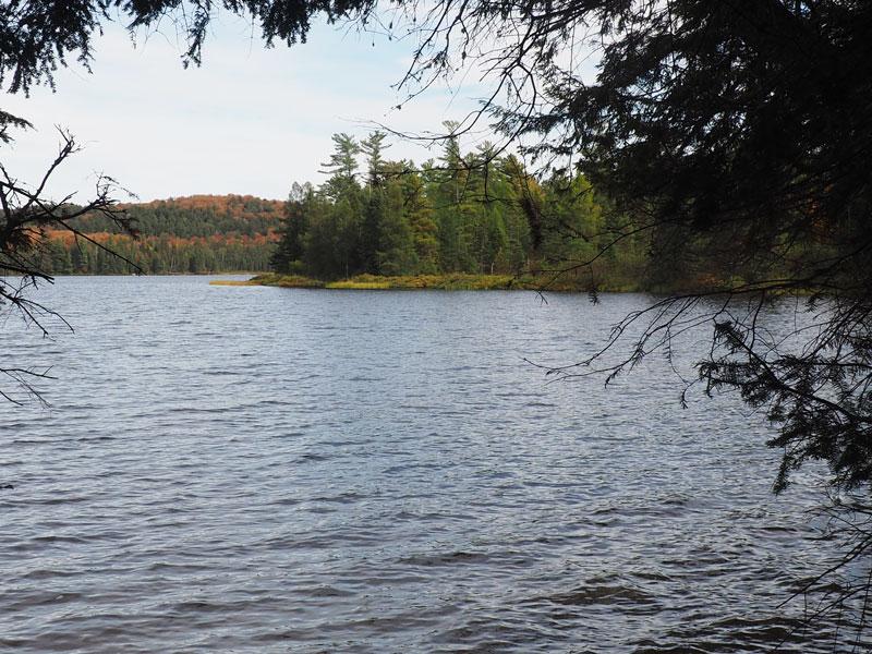 Bild 12 Wanderung zum Canisbay Lake