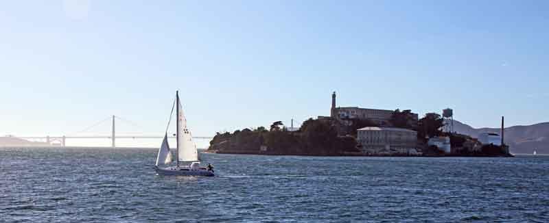 Bild 15 Blick auf Alcatraz fast sind wir da