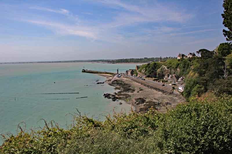 Bild 13 Blick auf die Küste bei Cancale