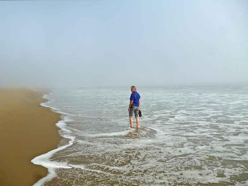 Bild 13 Wir laufen durch das angenehme Wasser