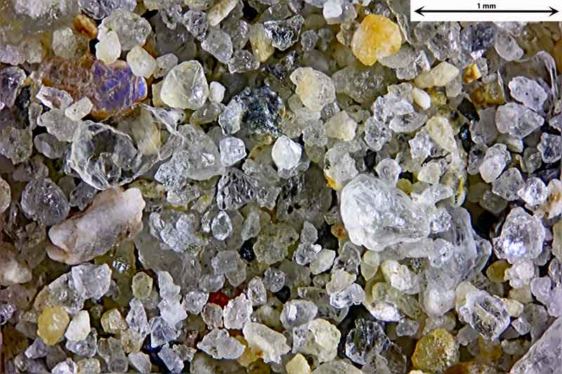 Bild 1 Sand von einem Strand Nähe St. Tropez, Frankreich