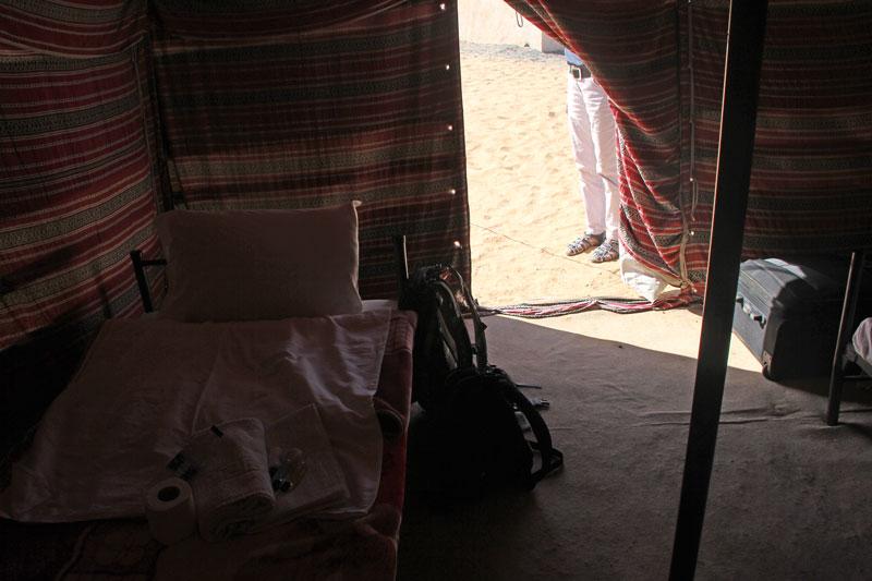 Bild 6 Arabis Tent im 1000 nights Camp von innen
