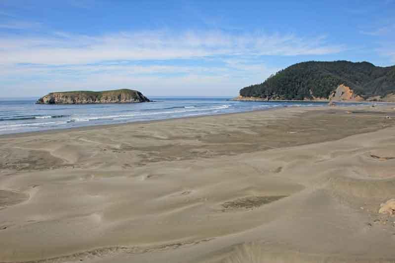 Bild 10 Immer wieder tolle Blicke auf die Küstenlandschaft in Oregon