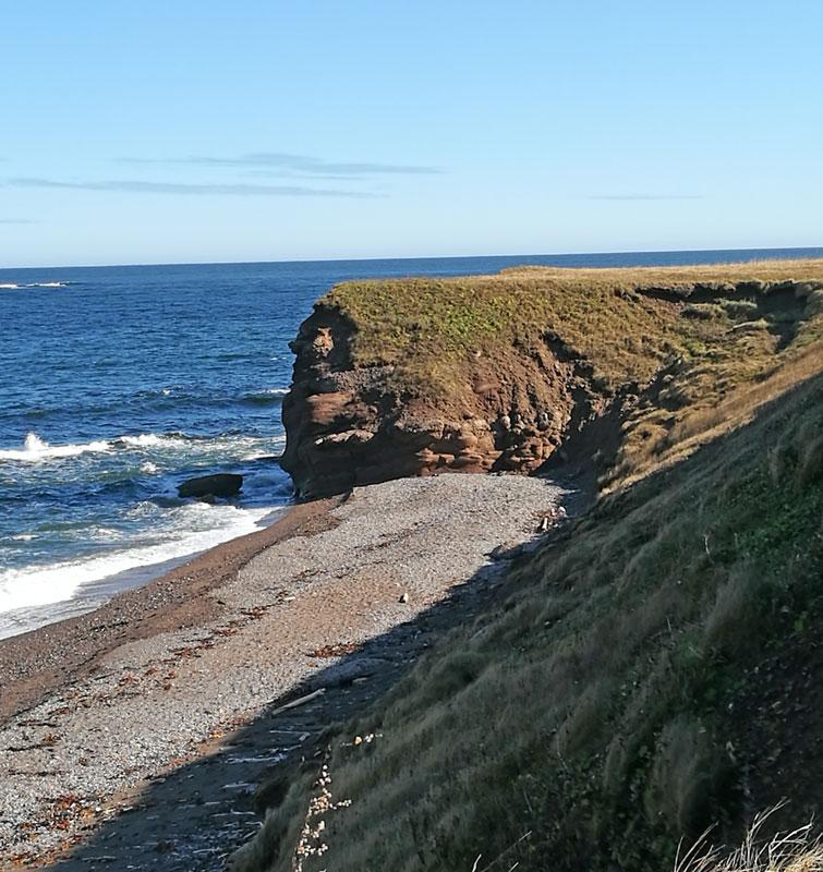 Bild 4 Zwischenstop an der Küste