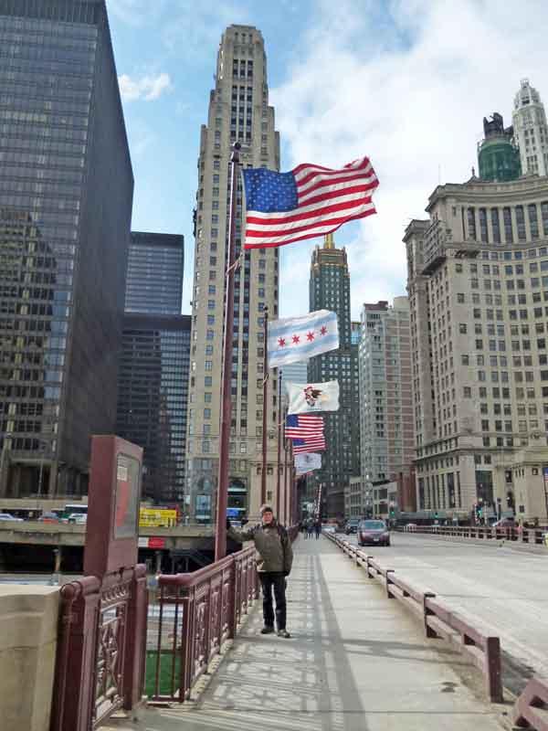 Bild 4 Morgens im eiskalten Chicago