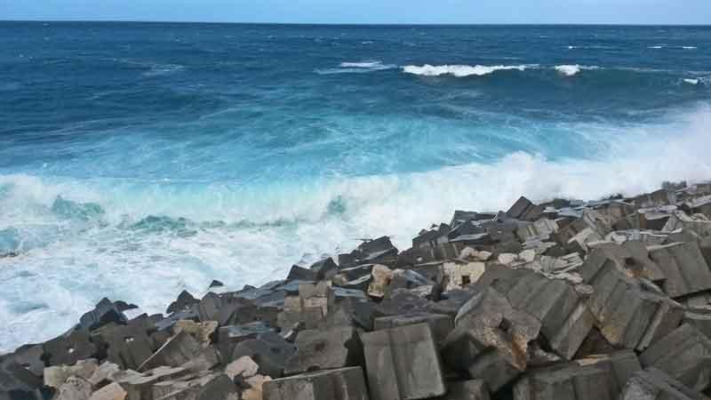 Bild 11 An der Felsenküsten von Jardim do Mar