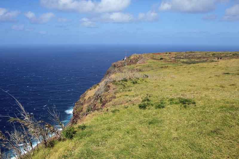 Bild 16 Tolle Ausblicke vom westlichsten Punkt Madeiras auf das Meer
