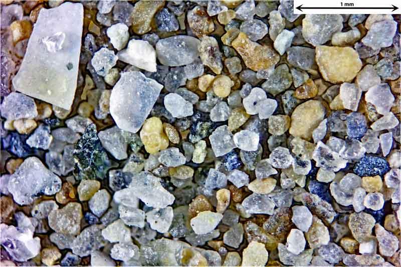 Bild 4 Sand vom Badestrand bei Rimini Italien