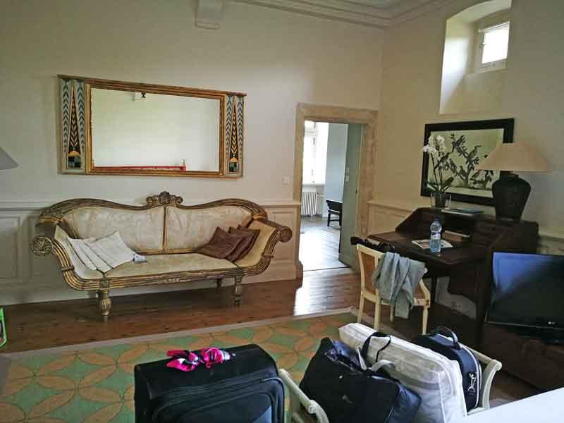 """Bild 15 Unser großes Zimmer im """"Manoir de la Fieffe"""""""