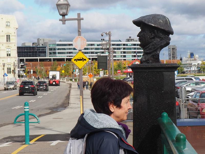 Bild 2 Angekommen in Quebec City
