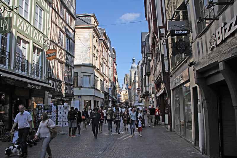 Bild 29 Bummel durch die Altstadt von Rouen