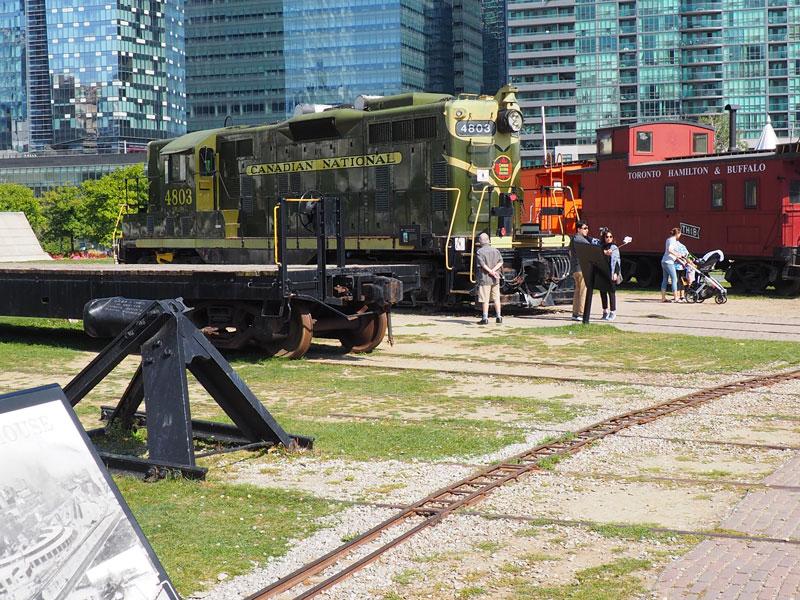 Bild 48 Eisenbahnmuseum neben dem CN Tower
