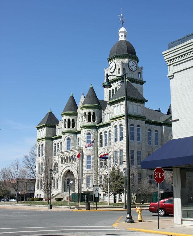 Bild 3 In Carthage, einer Kleinstadt in Missouri