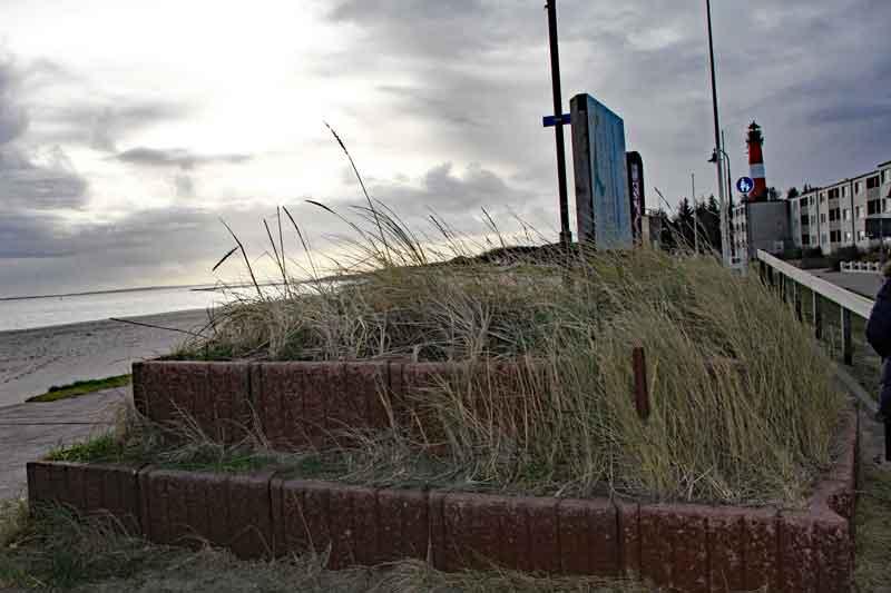 Bild 2 Am Hafen von Hörnum