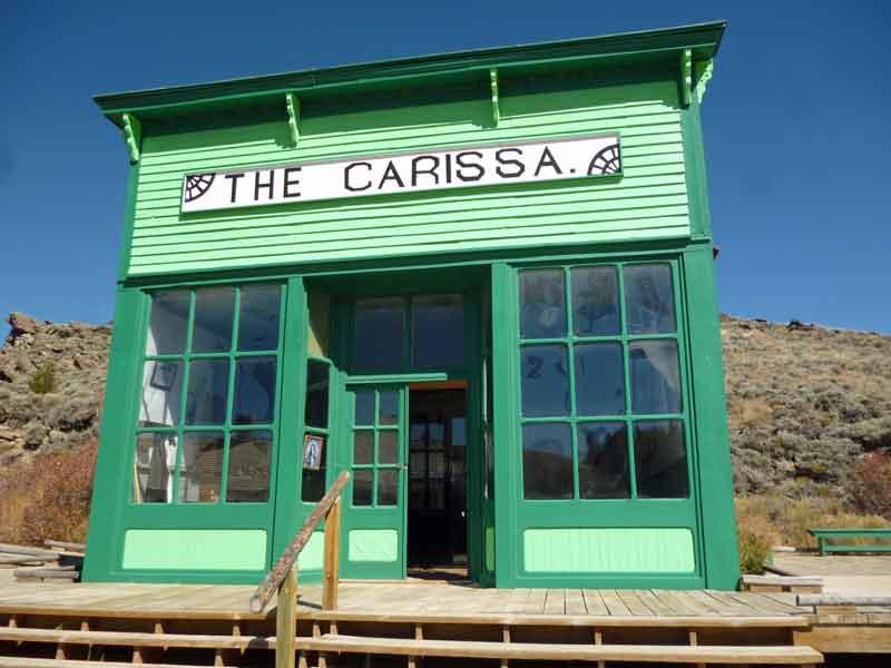 """Bild 4 Besichtigung des alten Bergbauortes mit dem Namen der Mine """"Carissa"""""""
