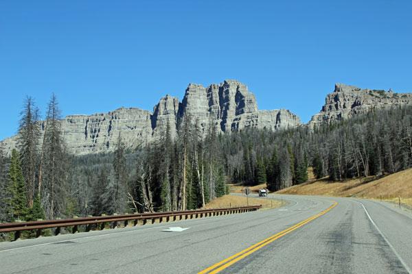 Bild 3 Auf dem Weg zum Grand Teton Nationalpark in den Rocky Mountains