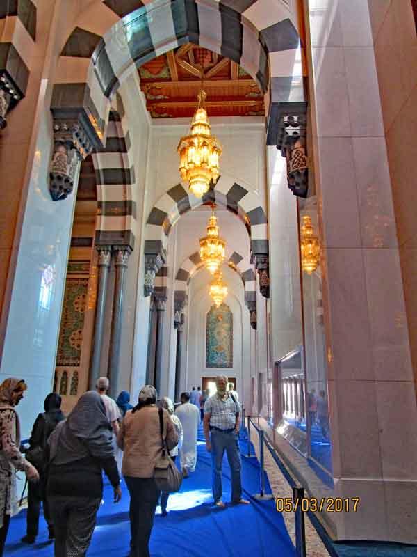 Bild 10 In der Sultan Qaboos Moschee