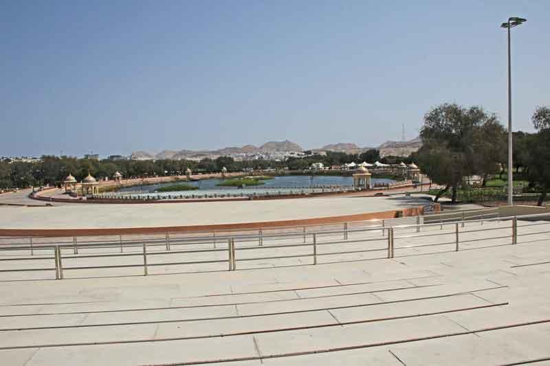 Bild 9 Im Qurum Park in Muscat
