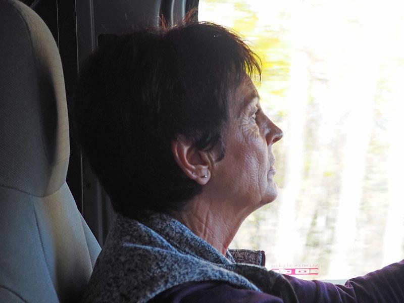 Bild 7 Margit fährt zuerst