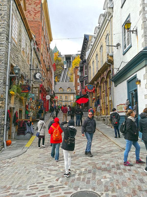 Bild 20 Blick auf den Funiculaire von Quebec