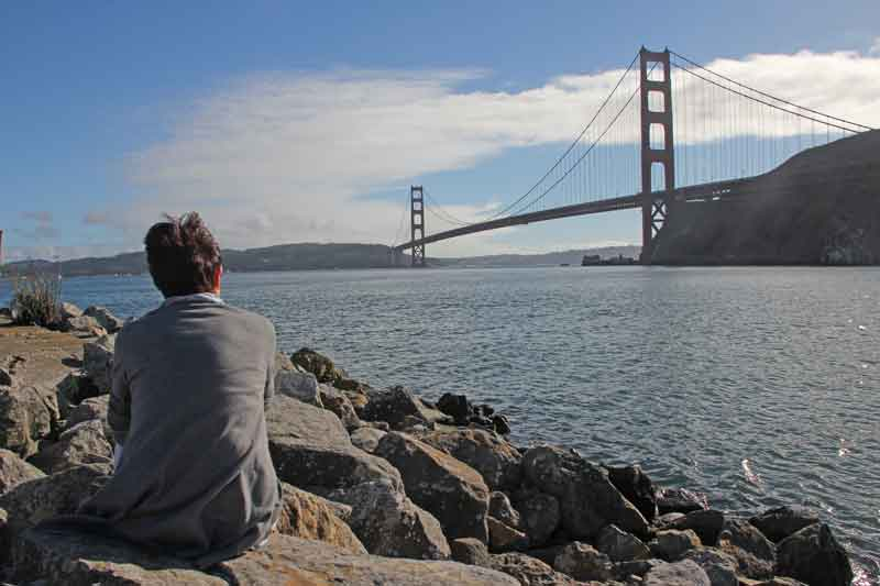 Bild 49 Blick auf die Golden Gate Brücke