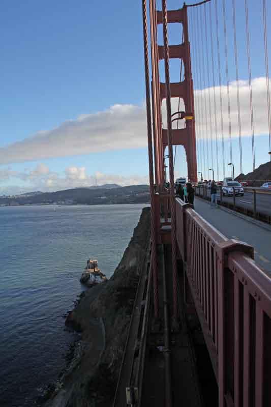 Bild 59 Auf der Golden Gate Brücke