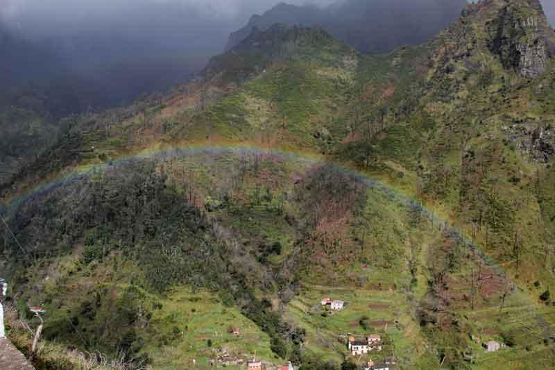 Bild 29 Regenbogen im Tal