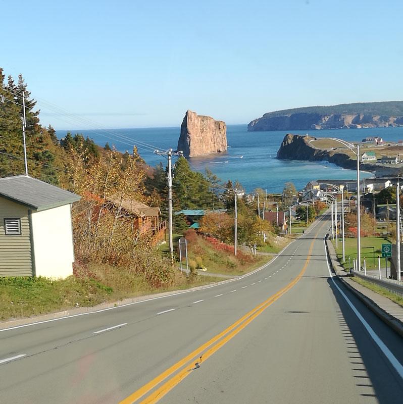 Bild 2 Blick auf die Küste