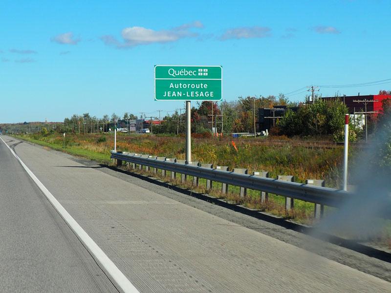 Bild 1 Weiter in Richtung Quebec