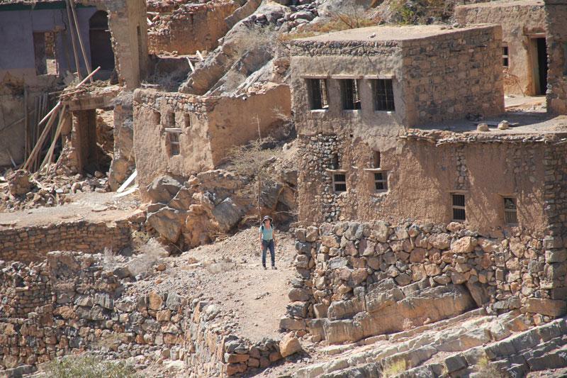 Bild 18 In der verlassenen Stadt im Wadi Habib