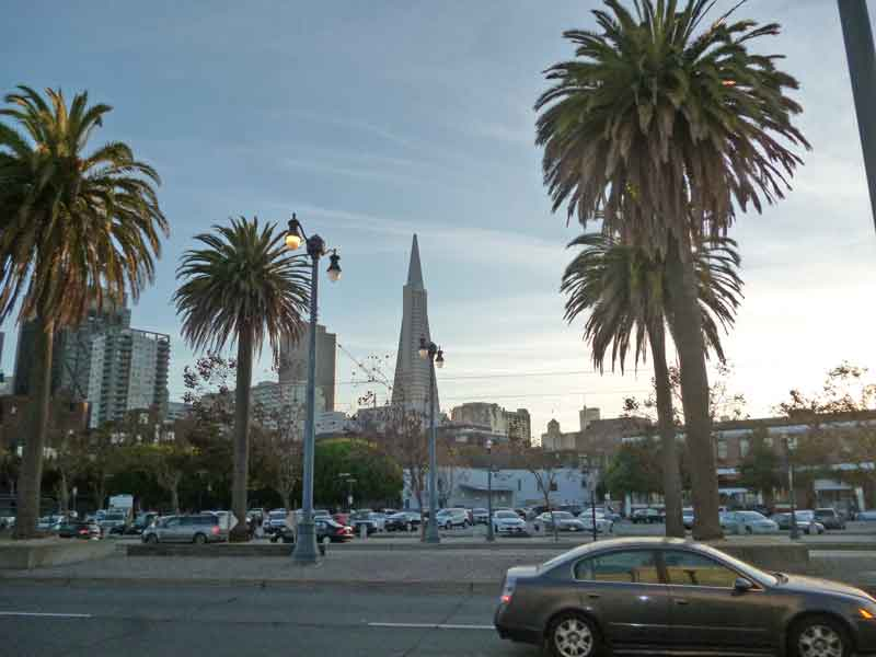 Bild 21 Blick auf die Skyline von San Francisco