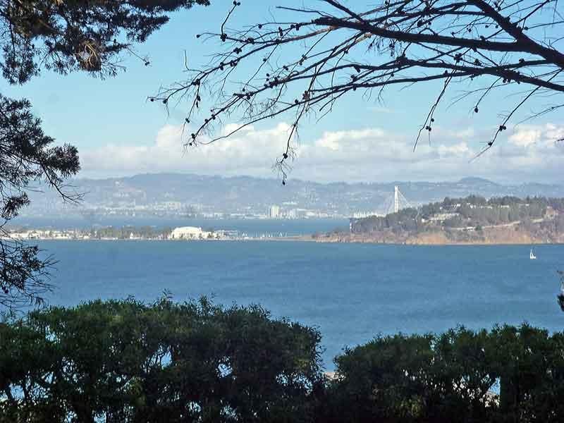 Bild 27 Blick auf das Meer vom Coit Tower