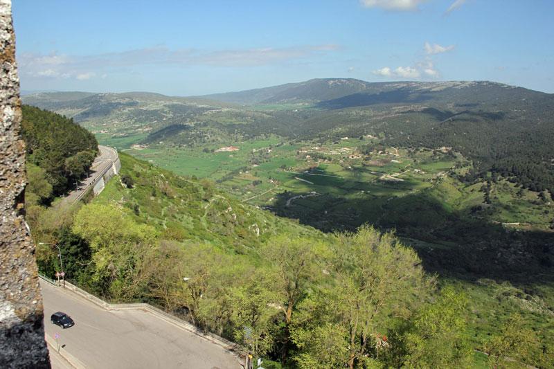 Blick vom Castello in Monte Sant'Angelo