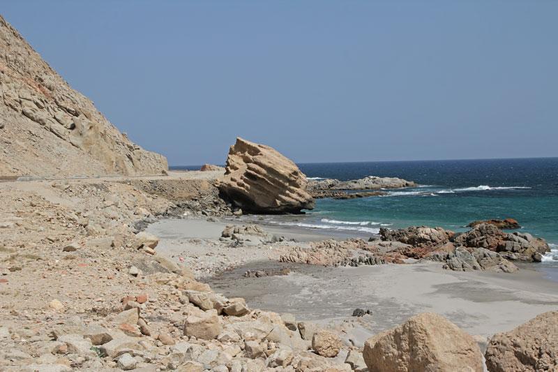 Bild 12 Blick auf die Küste und die Felsformationen