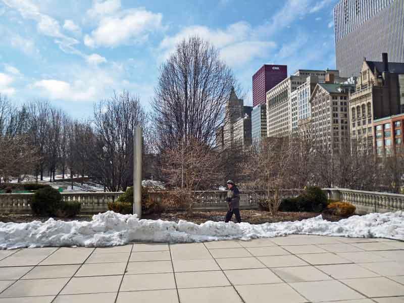 Bild 5 Im Millenium Park in Chicago