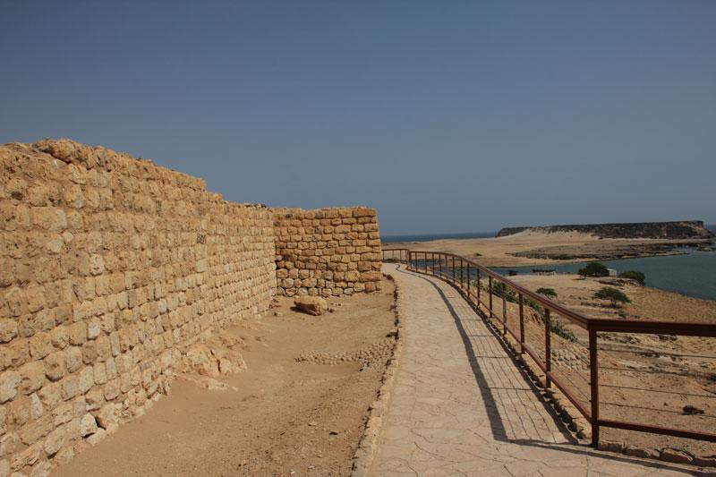 Bild 16 Rundweg um Ausgrabungen in Samhuram (Khor Rori)
