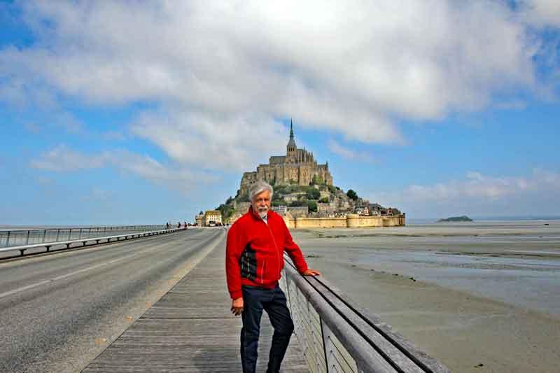 Bild 3 Auf dem Weg zu Mont-Saint-Michel