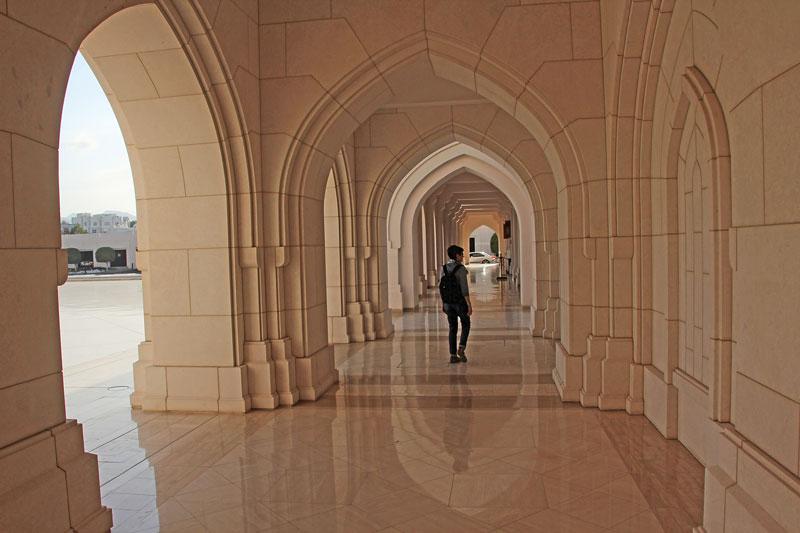 Arkaden am Opernhaus von Muscat