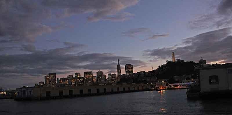 Bild 43 Einfahrt in den Hafen von San Francisco