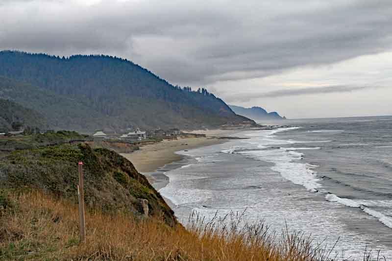 Bild 4 Weiter auf der 101 in den Süden in Oregon, immer wieder tolle Blicke aufs Meer
