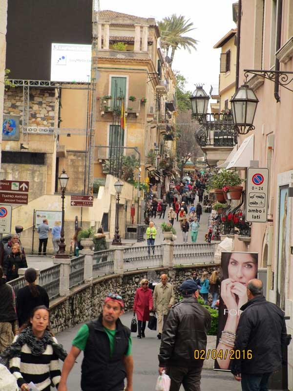 Bummel durch Taormina