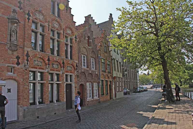 """Bild 25 Gebäude am Seitenkanal """"Langerei"""""""