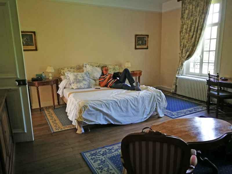 Bild 15 Unser Schlafzimmer im Chateaux de Behen