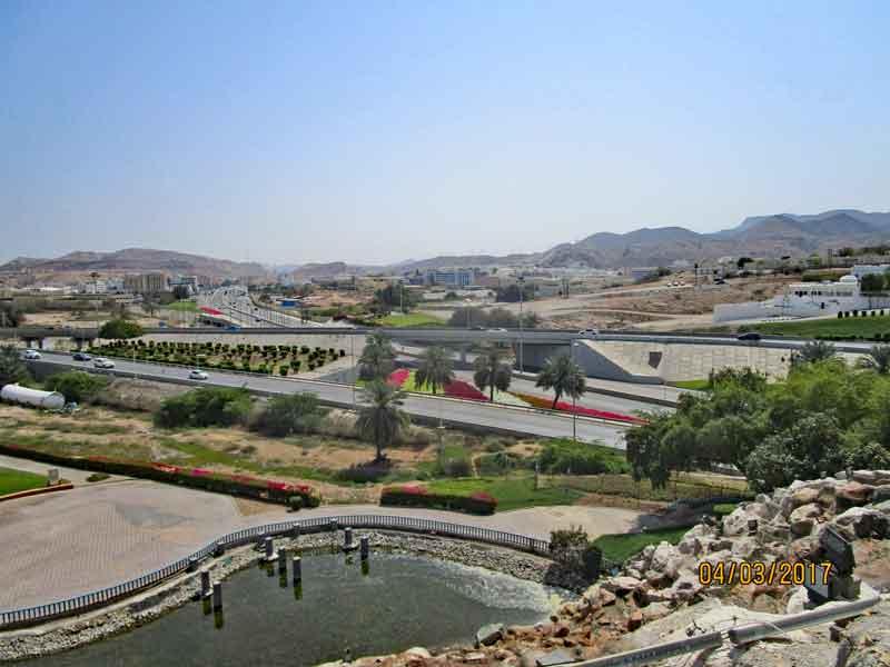 Bild 2 Im Qurum Park in Muscat