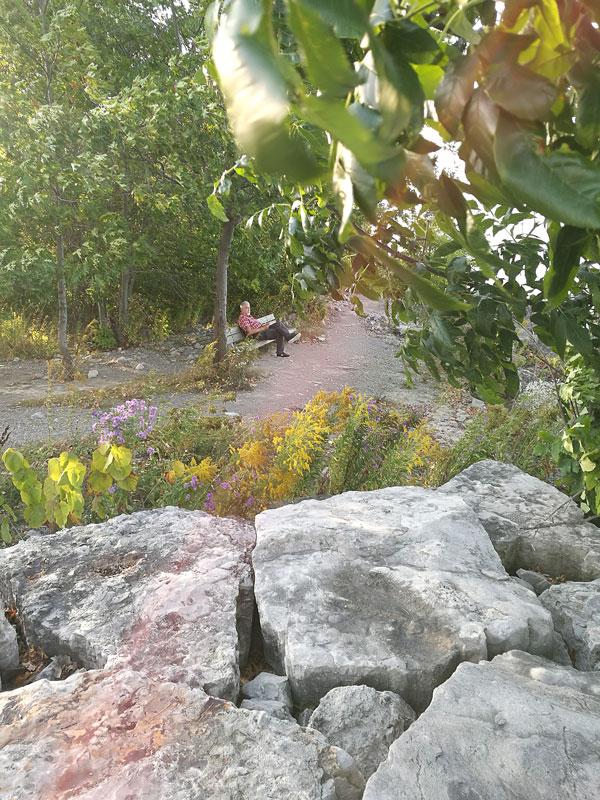 Bild 24 Kleine Pause mit Blick auf den Ontario See