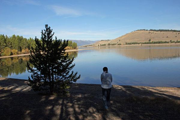 """Bild 24 Direkt an einem See auf dem """"Madison Campground"""""""