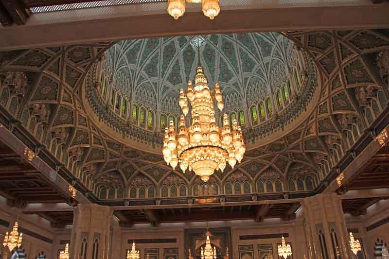 Bild 9 In der Sultan Qaboos Moschee