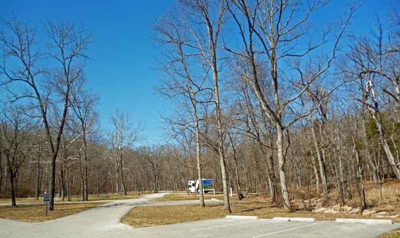 Bild 7 Auf dem Ondanaga State Park Campground