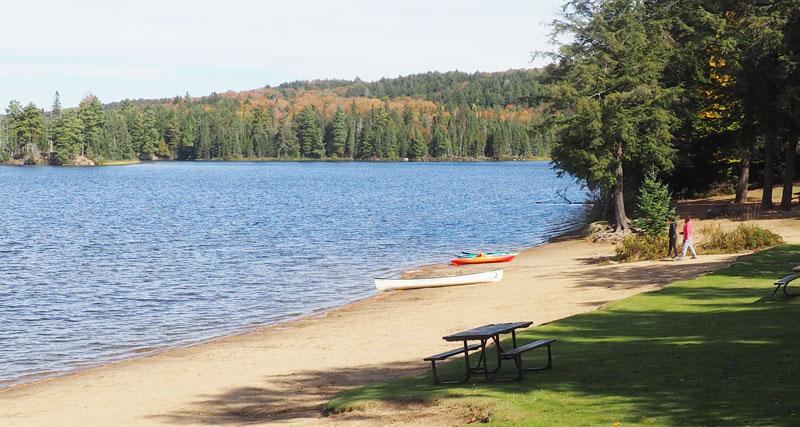Bild 6 Wanderung zum Canisbay Lake